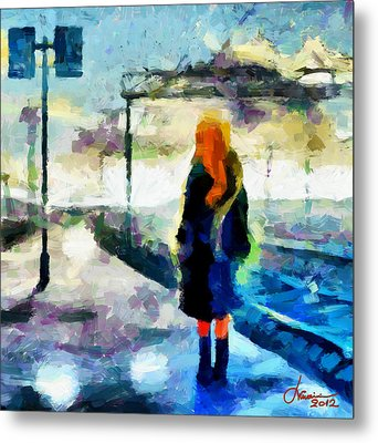 The Girl From The Dream Tnm Metal Print by Vincent DiNovici