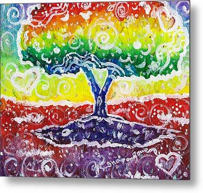 The Giving Tree Metal Print by Shana Rowe Jackson