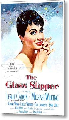The Glass Slipper, Us Poster, Leslie Metal Print by Everett