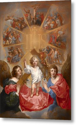 The Glorification Of The Name Of Jesus Metal Print by Mountain Dreams
