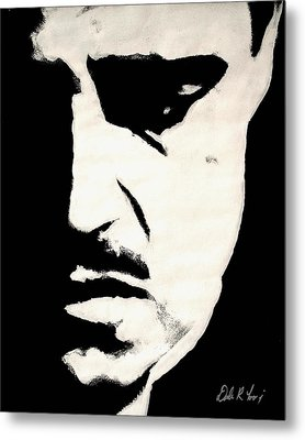 The Godfather Metal Print by Dale Loos Jr
