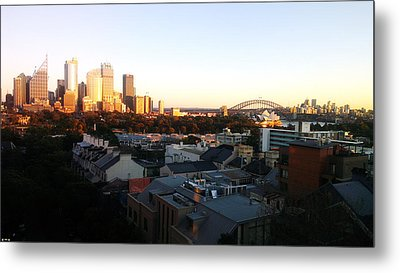 The Golden Hour Metal Print by Edwin Vincent