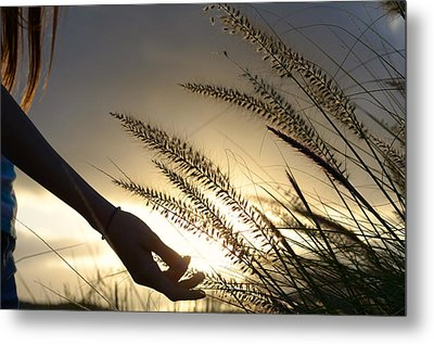 The Good Earth Metal Print by Laura Fasulo