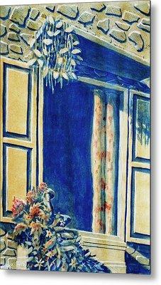 The Good Morning Window Metal Print by Adhijit Bhakta