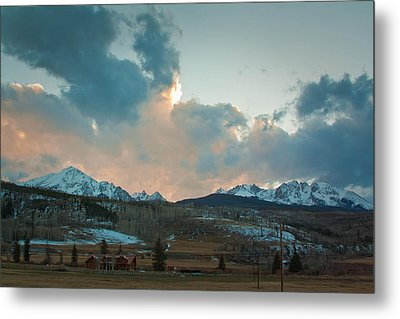 The Gore Range Metal Print by Greg Sagan