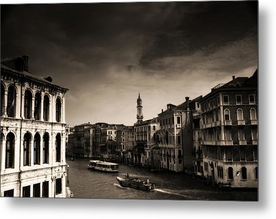 The Grand Canal Metal Print by Aaron S Bedell
