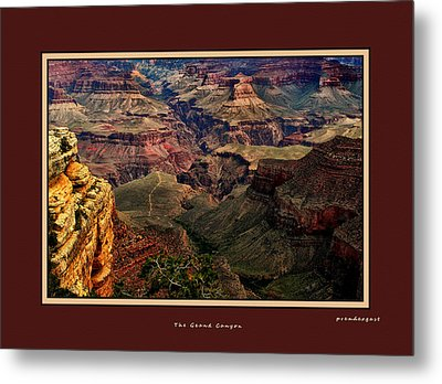 The Grand Canyon Metal Print by Tom Prendergast