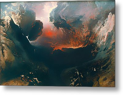 The Great Day Of His Wrath Metal Print by Mountain Dreams