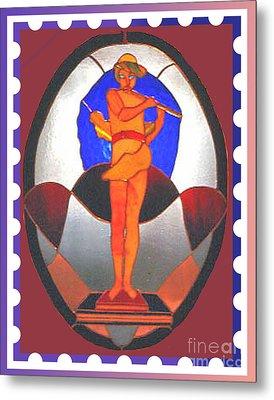 The Great God Pan Plays Metal Print by Patricia Keller