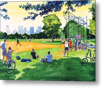 The Great Lawn Metal Print by Clifford Faust