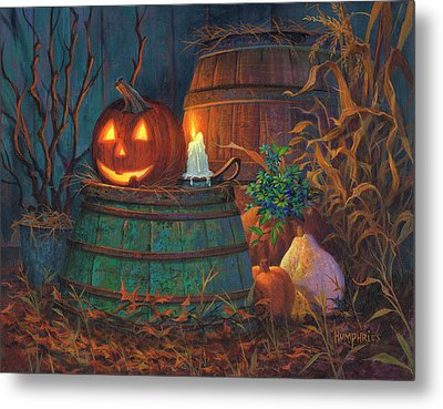 The Great Pumpkin Metal Print by Michael Humphries
