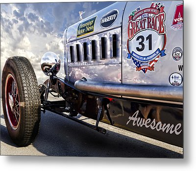 The Great Race 2012 Metal Print by Peter Chilelli