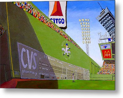 The Green Monster Metal Print by Mike Gruber