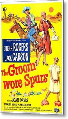 The Groom Wore Spurs, Us Poster Metal Print by Everett