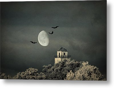 The Haunted House Metal Print by Heike Hultsch
