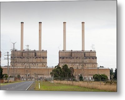 The Hazelwood Coal Fired Power Station Metal Print by Ashley Cooper