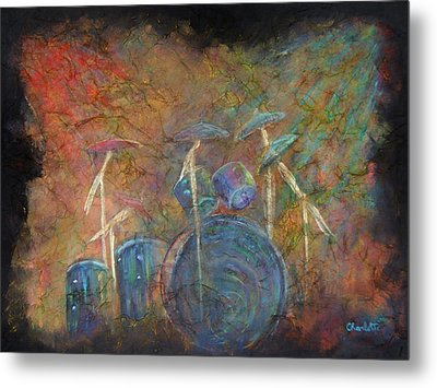 The Heart Beat  Metal Print by The Art With A Heart By Charlotte Phillips