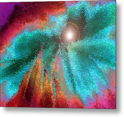 The Heart Of Things Metal Print by Carl Bandy