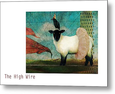 The High Wire Metal Print by Katherine DuBose Fuerst