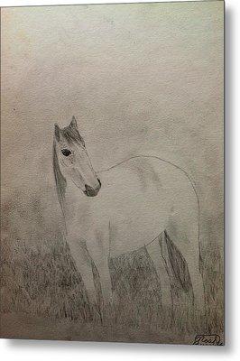 The Horse Metal Print by Noah Burdett