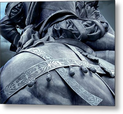 The Horses Ass Metal Print by Jefferey McDowell