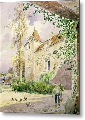 The House Of Armande Bejart Metal Print by Henri Toussaint