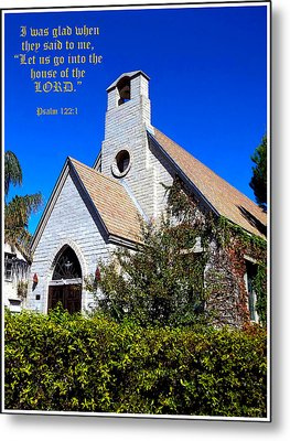 The House Of The Lord Metal Print by Glenn McCarthy Art and Photography