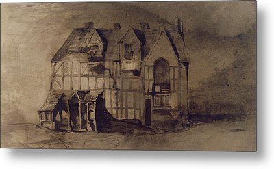 The House Of William Shakespeare Metal Print by Victor Hugo