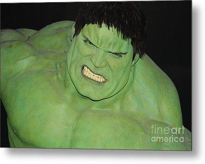 The Hulk Metal Print by John Telfer