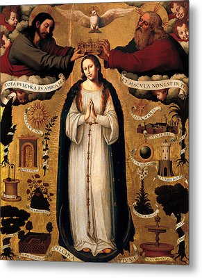 The Immaculate Conception Metal Print by Mountain Dreams
