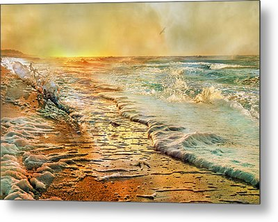 The Inspirational Sunrise Metal Print by Betsy C Knapp