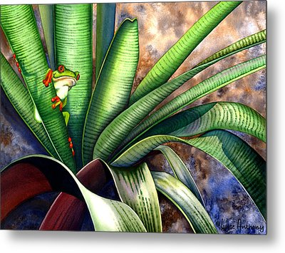 The Intruder Metal Print by Lyse Anthony