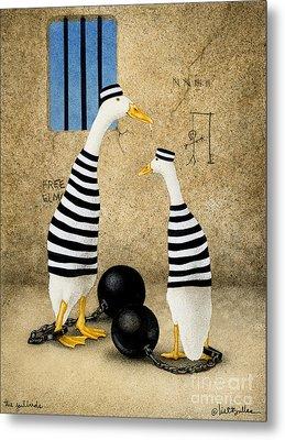 The Jailbirds... Metal Print by Will Bullas