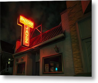 The Jazz Estate Metal Print by Scott Norris