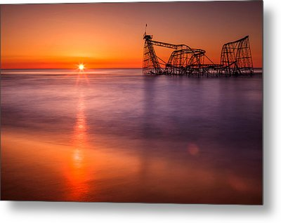 The Jet Star Metal Print by Michael Lawrence