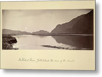 The Kabul River Metal Print by British Library