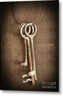 The Keys Metal Print by Edward Fielding