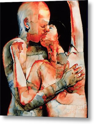 The Kiss Metal Print by Graham Dean