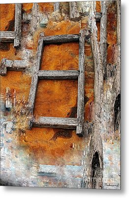 The Ladder  Metal Print by Makarand Purohit