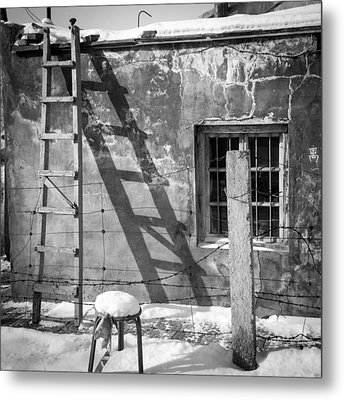 The Ladder Metal Print by Stephanus Le Roux
