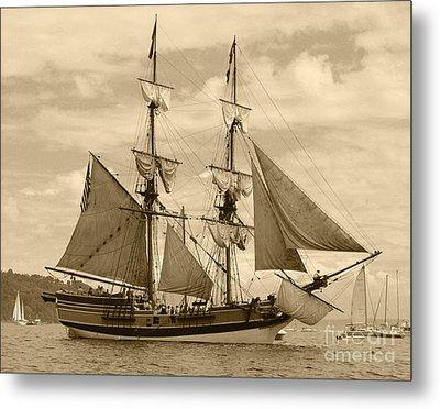 The Lady Washington Ship Metal Print by Kym Backland