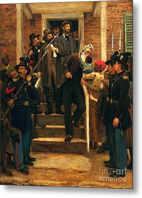 The Last Moments Of John Brown Metal Print by Pg Reproductions