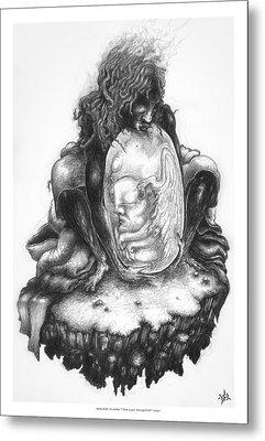 The Last Seraphim Metal Print by Natanel Araeha