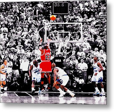 The Last Shot Metal Print by Brian Reaves