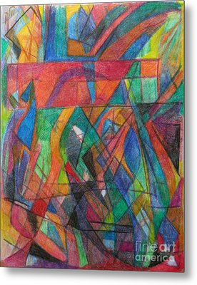 The Letter Dalet 2 Metal Print by David Baruch Wolk