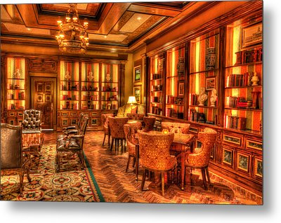 The Library Metal Print by Heidi Smith