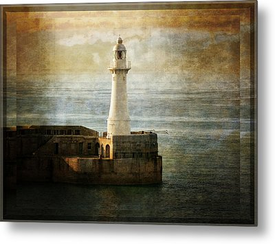 The Lighthouse Metal Print by Lucinda Walter