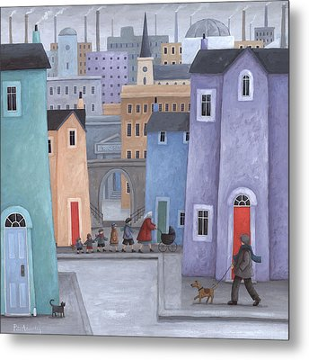 The Little Ones Metal Print by Peter Adderley