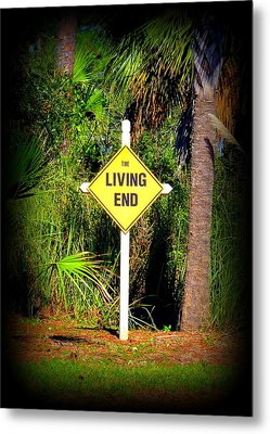 The Living End Metal Print by Carla Parris