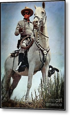 The Lone Ranger Metal Print by Bob Hislop